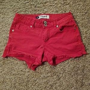 Pants - Fun Red Shorts Size 3/4